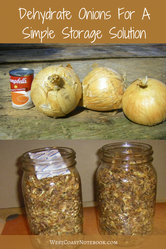 Dehydrate Onions For A Simple Storage Solution