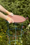 saucer for bird bath