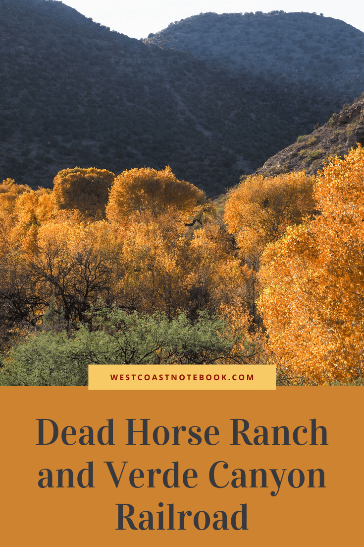 Dead Horse Ranch and Verde Canyon Railroad