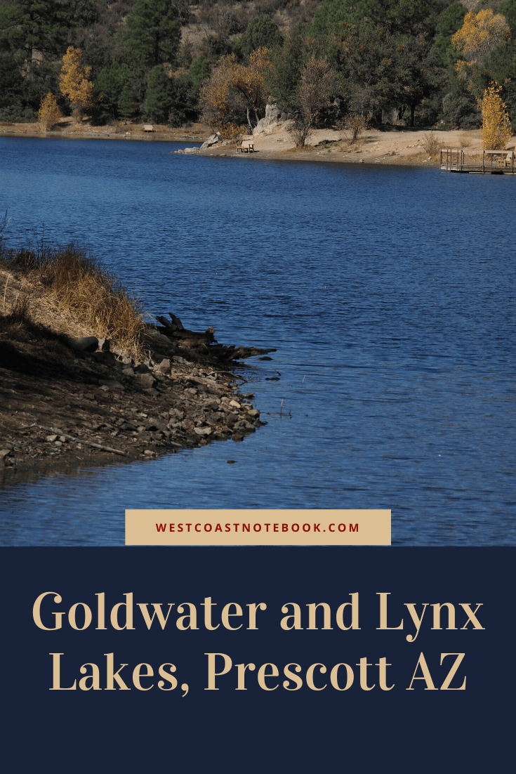 Goldwater and Lynx Lakes, Prescott AZ