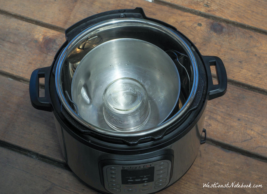 Add in a half pint canning jar